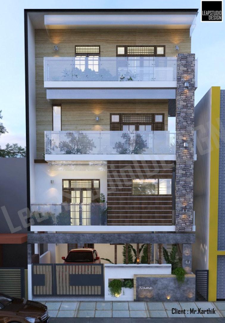 Leapstudio Design Bengaluru | Residence – Architecture Mr.Karthik